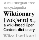 Wiktionary, the free dictionary